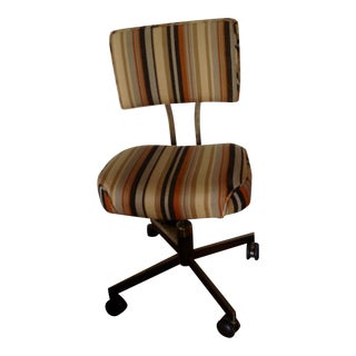 Alma Mid-Century Adjustable Office Chair on Wheels