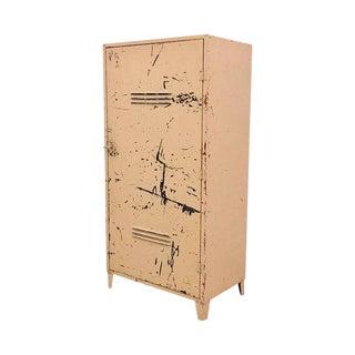 Vintage Industrial Steel Storage Cabinet