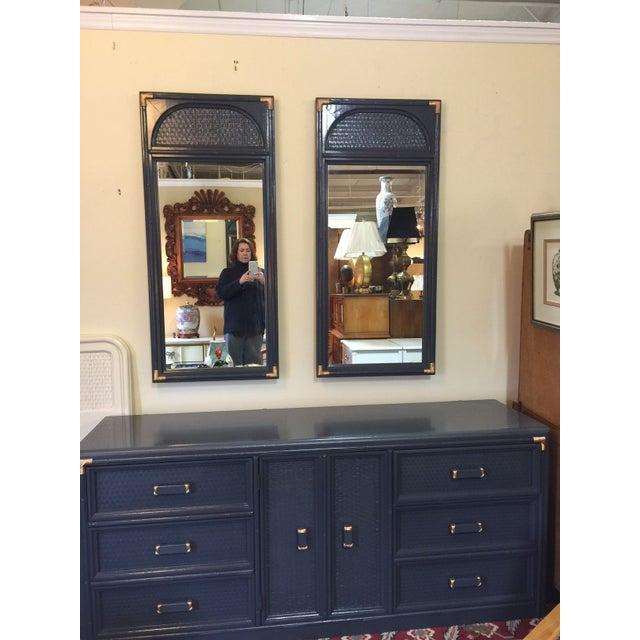 Image of Lacquered Vintage Bassett Triple Dresser