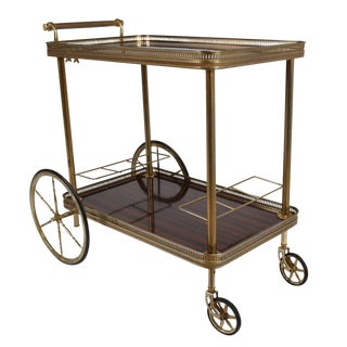 Vintage Traditional Style Bar Cart
