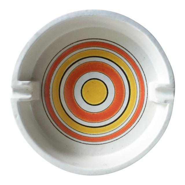 Mid-Century Italian Pottery Ashtray - Image 1 of 5