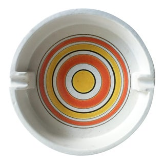 Mid-Century Italian Pottery Ashtray