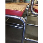 Image of Caned Marcel Breur Cesca Chairs - Set of 8
