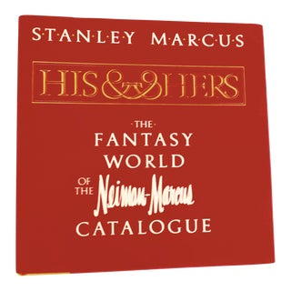 Neiman Marcus His & Her Christmas Catalogues Book