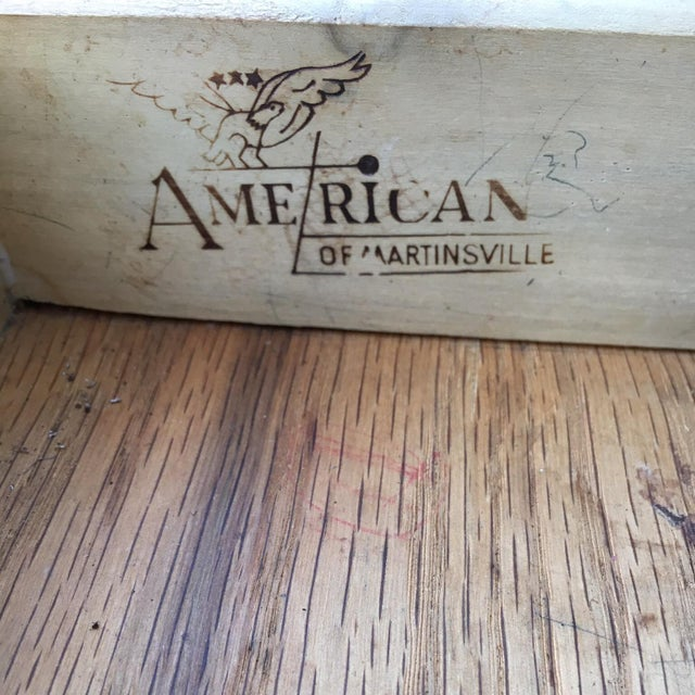 American of Martinsville Mid-Century Side Table - Image 6 of 11