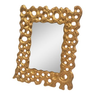 Gold Circle Bubble Picture Frame