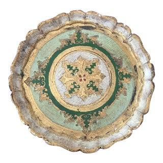 Mid-Century Florentine Tray