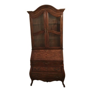 Vintage Drexel Secretary Desk Bookcase