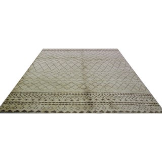 Natural Hemp Indian Rug - 8′2″ × 10′