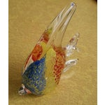 Image of Vintage Murano Angel Fish Paperweight