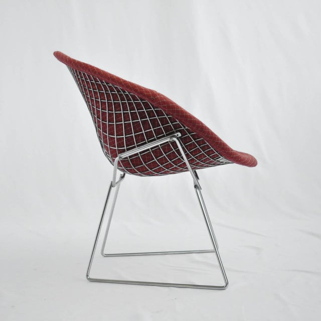 Harry Bertoia Diamond Dining Chair With Cover - Image 3 of 6