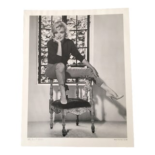 July 1962 Allan Grant Marilyn Monroe Photo Lithograph