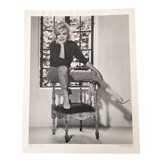 July 1962 Allan Grant Marilyn Monroe Photo Lithograph