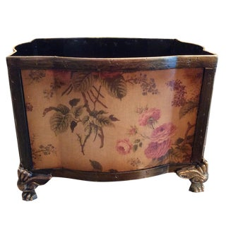 Floral Cache Pot