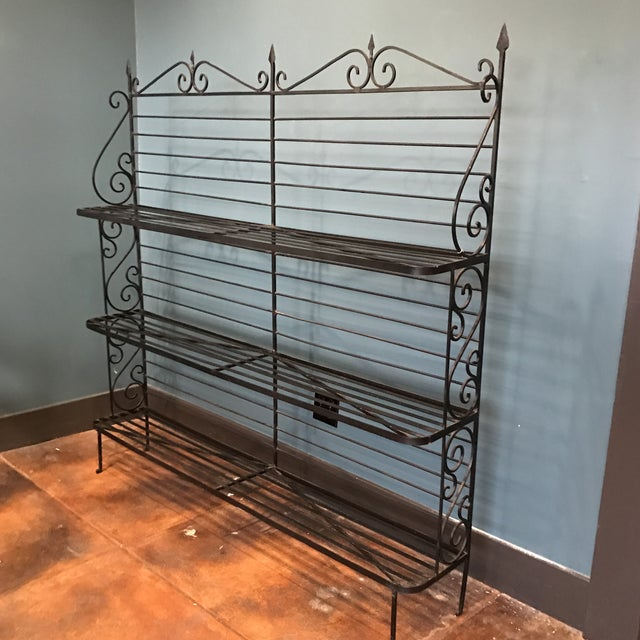 Wrought Iron Baker's Rack - Image 2 of 7