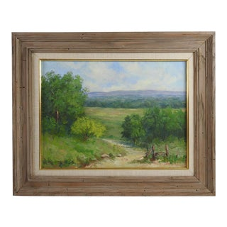 Texas Hill Country Landscape Painting