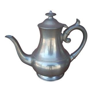 Woodbury Pewters Pewter Coffee Pot