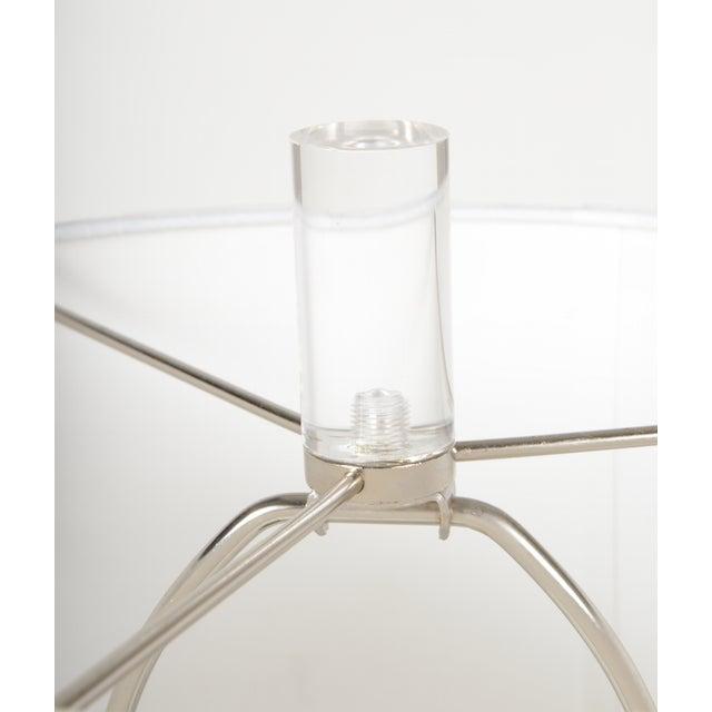 Image of Karl Springer Style Vintage Lucite Lamp