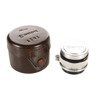 Vintage 1960s Canon Screw Mount Lens