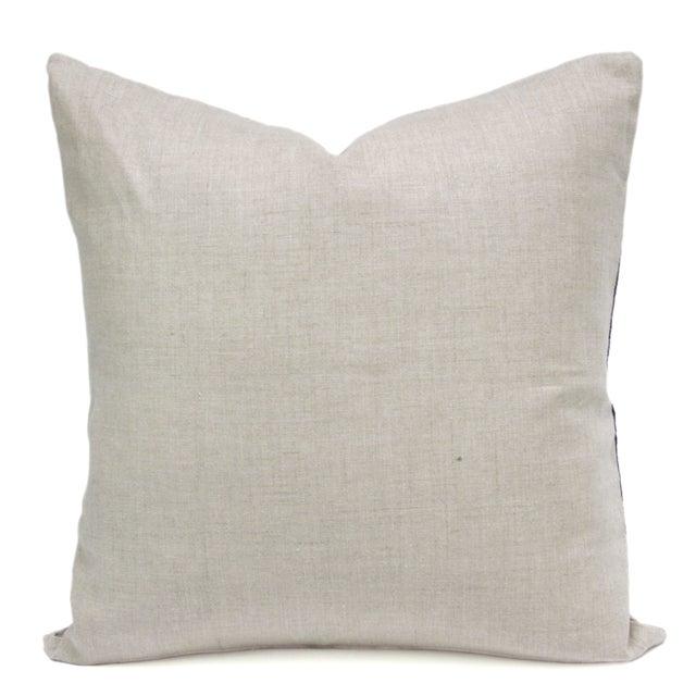 Image of Vintage Indigo Batik Hmong Pillows - Pair