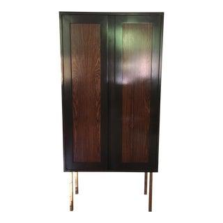 Harvey Probber Ebonized Mahogany & Rosewood Cabinet