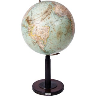 Antique Rotating Globe