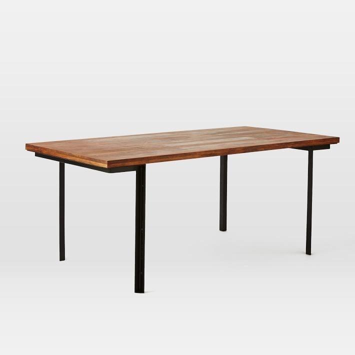 West Elm Wood amp Metal Industrial Dining Table Chairish : 786c7e57 f24c 472e b773 6ca43dfcb113aspectfitampwidth640ampheight640 from www.chairish.com size 640 x 640 jpeg 21kB