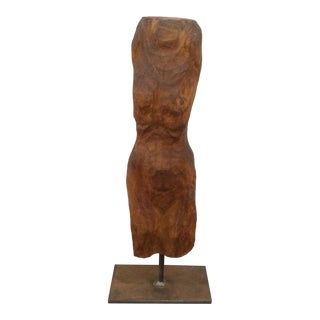 Sculpted Figure on Stand