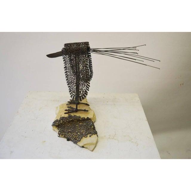 Modernist Bird Sculpture - Image 4 of 6