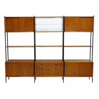 Lyby Mobler Danish Modern Teak Wall Unit