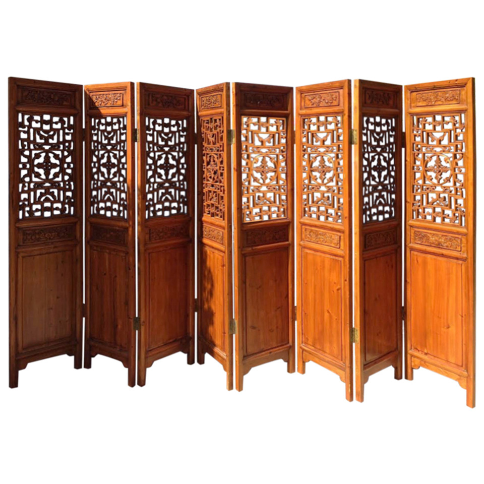 Vintage Used Chinese Screens and Room Dividers Chairish