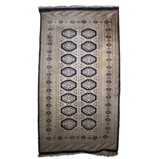 Jaldar Pakistani Wool & Cotton Rug - 2′6″ × 3′