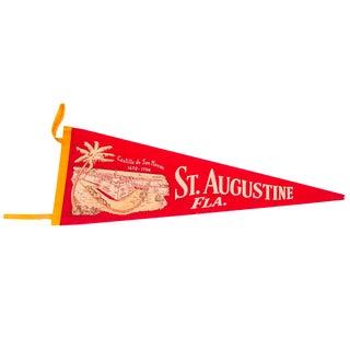 Castillo de San Marcos St Augustine Florida Felt Flag