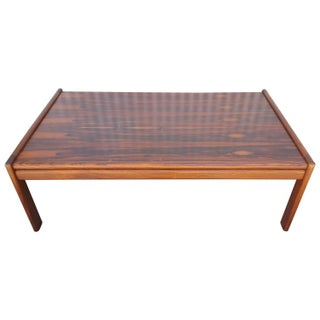 Classic Danish Modern Rosewood Coffee Table