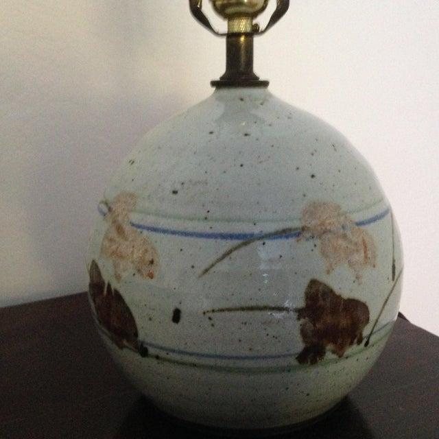 Image of Mid-Century Modern Ceramic Lamp