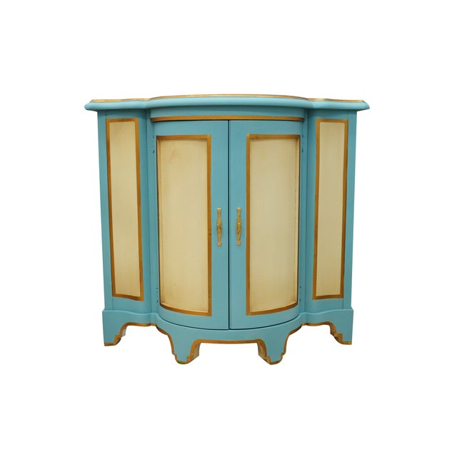 Moroccan-Style Console Cabinet - Image 1 of 4