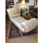 Image of French Louis XV Style Chaise Lounge