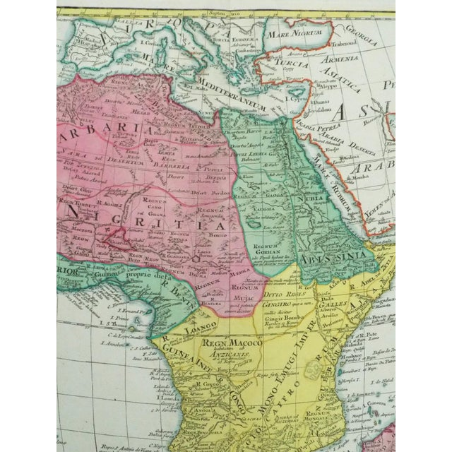 1778 Africa Map by Lotter - Image 9 of 10