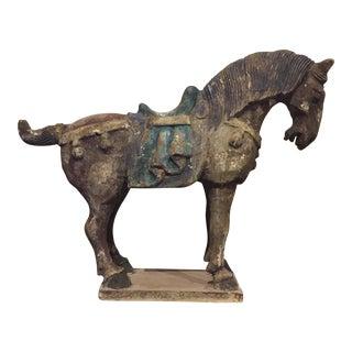 Chinese Antique Horse Sculpture