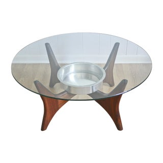 1649-PT Adrian Pearsall Coffee Table W/ Planter