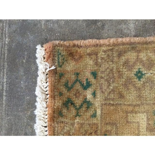 "Turkaman Handmade Persian Rug 1'6"" x 2'8"" - Image 7 of 10"