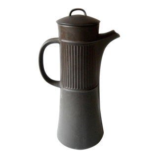 Jens Quistgaard for Dansk Danish Modern Flamestone Coffee Pot