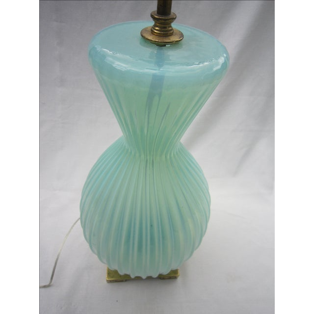 Vintage Murano Glass Lamp - Image 5 of 6
