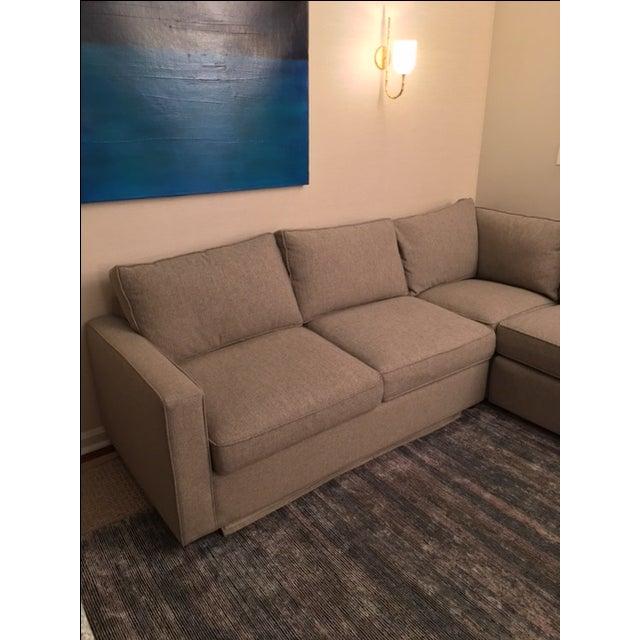 Room & Board York Sectional Sleeper Sofa - Image 4 of 5