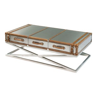 Sarreid LTD Belted Coffee Table