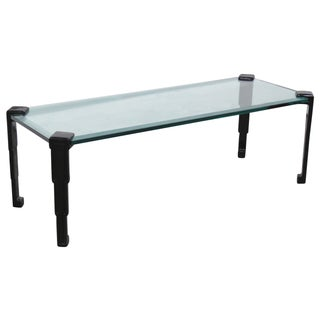 Art Deco Glasstop Coffee Table