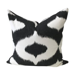 Schumacher Ikat Pillow
