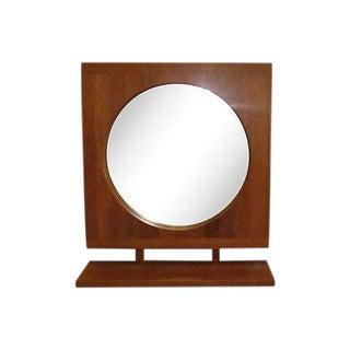 Mid-Century Danish Modern Teak Mirror