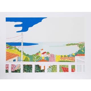Marion McClanahan - Cibourne Harbor Lithograph