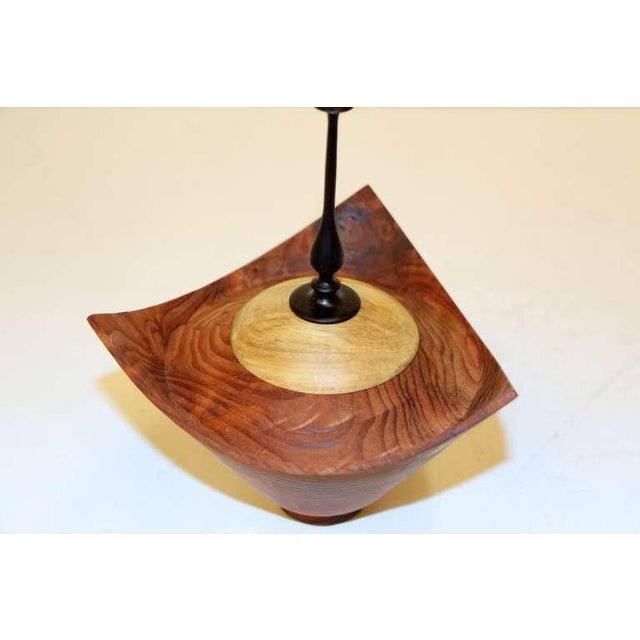 Image of Beautifully turned Redwood Burl by Paul Maurer vessel